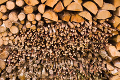 Libro macchina di legno impilato Immagini Stock Libere da Diritti