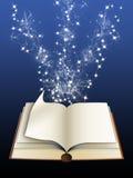 Libro magico (01) Fotografia Stock Libera da Diritti