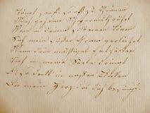 Libro manuscrito I Fotos de archivo libres de regalías