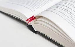 Libro marcado imagen de archivo libre de regalías