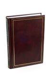 Libro marrón en blanco Imágenes de archivo libres de regalías
