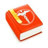 Libro medico Fotografia Stock Libera da Diritti