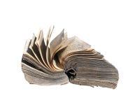 Libro molto vecchio Fotografie Stock Libere da Diritti