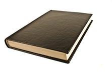 Libro negro Imagen de archivo libre de regalías