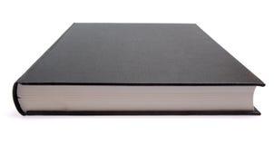 Libro nero fotografie stock