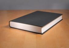 Libro nero Fotografia Stock