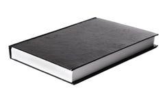 Libro nero senza indicazione di marchio Fotografia Stock