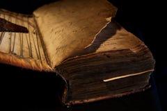 Libro noruego envejecido Fotos de archivo