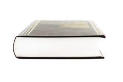 Libro pesante (isolato su bianco) Immagini Stock