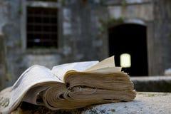 Libro rasgado Fotografía de archivo
