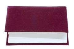 Libro rojo fotografía de archivo libre de regalías