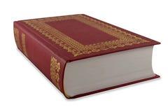 Libro rojo Imagen de archivo libre de regalías