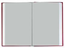 Libro rojo Foto de archivo