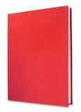 Libro rojo, aislado Imágenes de archivo libres de regalías