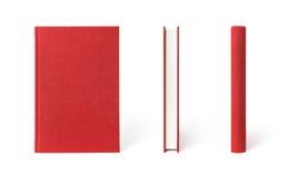 Libro rojo cerrado Imagen de archivo