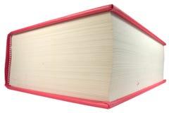 Libro rojo grande Fotografía de archivo libre de regalías
