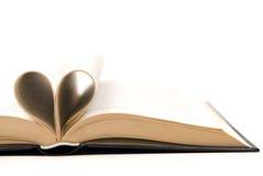 Libro romántico Fotografía de archivo
