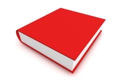 Libro rosso Immagini Stock