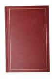 Libro rosso Fotografie Stock