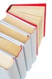 Libro rosso sulla parte superiore Fotografia Stock Libera da Diritti