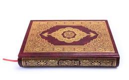 Libro sagrado Qur'an Fotos de archivo