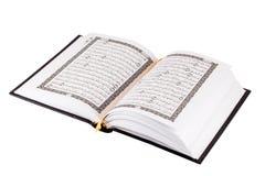 Libro santo del Quran Fotografie Stock Libere da Diritti