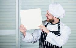 Libro scritto da me Libro dal cuoco unico famoso Improve che cucina abilità Ricette del libro Secondo la ricetta Cuoco unico barb immagini stock