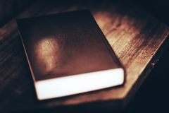 Libro senza il titolo Fotografia Stock Libera da Diritti
