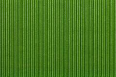 Libro Verde acanalado de la textura Fondo rayado Imagenes de archivo