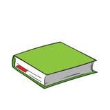 Libro verde de la historieta Fotografía de archivo libre de regalías