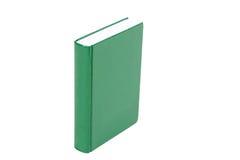 Libro verde del Hardcover Fotografia Stock