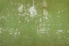 Libro Verde di Cratched Fotografie Stock
