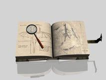 Libro viejo. stock de ilustración