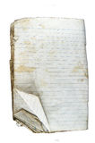 Libro viejo 2 Imagen de archivo libre de regalías