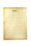 Libro viejo 2 Fotos de archivo libres de regalías