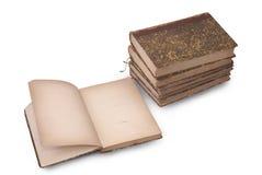 Libro viejo abierto Foto de archivo libre de regalías