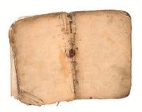 Libro viejo abierto en ambas paginaciones. Foto de archivo libre de regalías