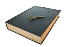 Libro viejo con clave Imagen de archivo libre de regalías