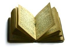 Libro viejo del himno Imagen de archivo