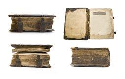 Libro viejo medieval, salterio fotografía de archivo