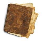 Libro viejo sucio cerrado Fotografía de archivo libre de regalías