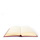 Libro vuoto sopra Immagine Stock