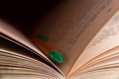 Libro y lápiz Fotos de archivo