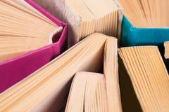 Libros abiertos Fotografía de archivo libre de regalías
