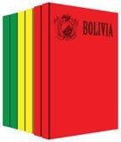 Libros acerca de Bolivia stock de ilustración