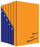 Libros acerca de Bosnia y Herzegovina ilustración del vector