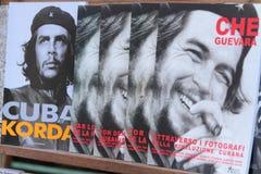 Libros acerca del Che imagenes de archivo