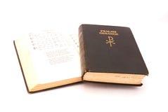 Libros africanos de la canción religiosa imagen de archivo