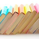 Libros aislados Imagen de archivo libre de regalías