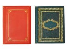 Libros aislados en blanco Imágenes de archivo libres de regalías
